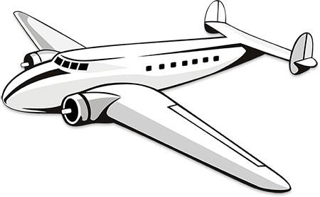 Dual engine prop aircraft.