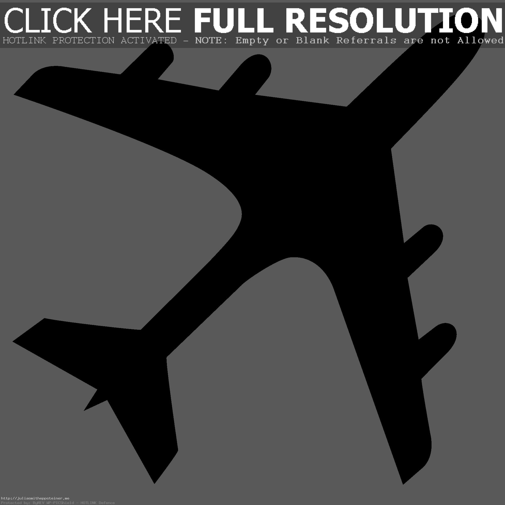 . ClipartLook.com File Airplane Silhouette Svg Wikimedia Commons Also Plane Clipart ClipartLook.com