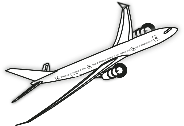 Airplane clipart flight clipart-Airplane clipart flight clipart-2