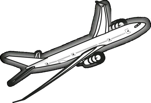 Airplane clipart flight clipart