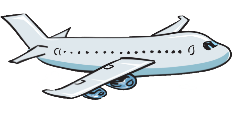 Airplane Clipart Transparent .-Airplane Clipart Transparent .-5