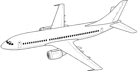 Airplane cliparts clipart image