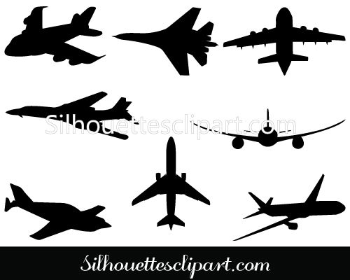Airplane Silhouette Clip Art Pack Download Free | MILITARY VECTOR GRAPHICS | Pinterest | Clip art, Art and Silhouette