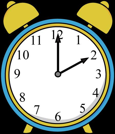 Alarm Clock Clip Art Image - blue and ye-Alarm Clock Clip Art Image - blue and yellow alarm clock.-5