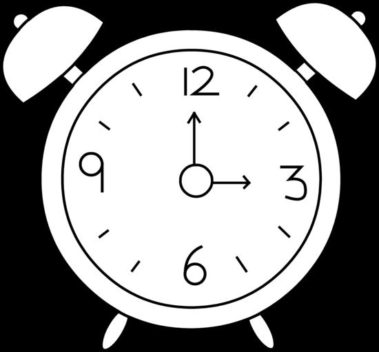 Alarm clock clipart free dromfci top