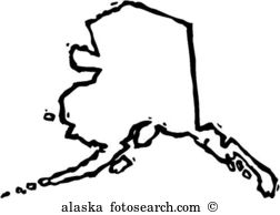 Alaska. Art Parts