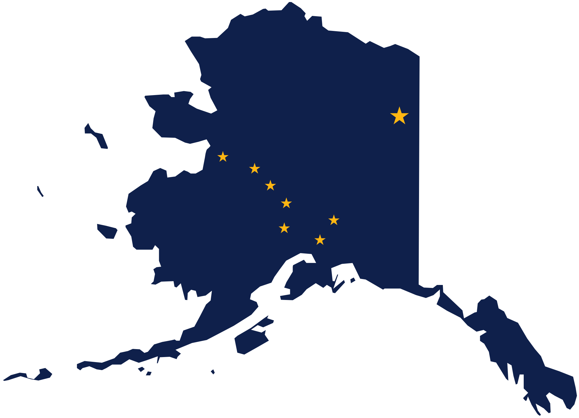 Alaska Clipart Flag Map Of Alaska 1969px-Alaska Clipart Flag Map Of Alaska 1969px Png-13