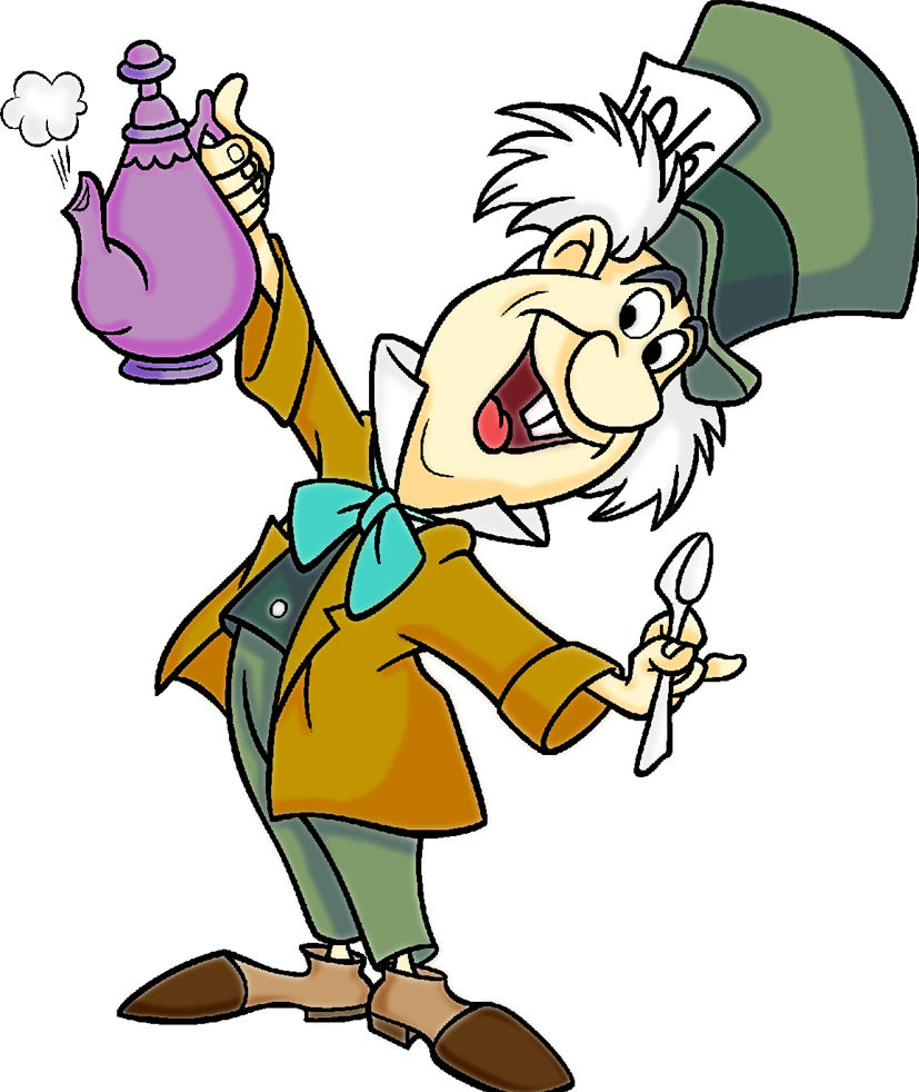 17 Mad Hatter Clip Art Free C