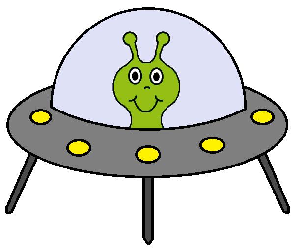 Alien Spaceship Clipart .-Alien Spaceship Clipart .-1