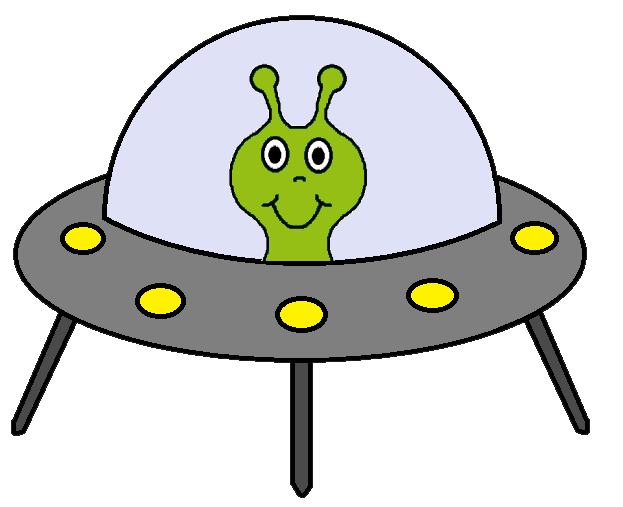 Alien Spaceship Clipart - Clipart library