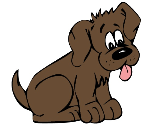 All Free Original Clip Art 30000 Free Clipart Images Brown Dog