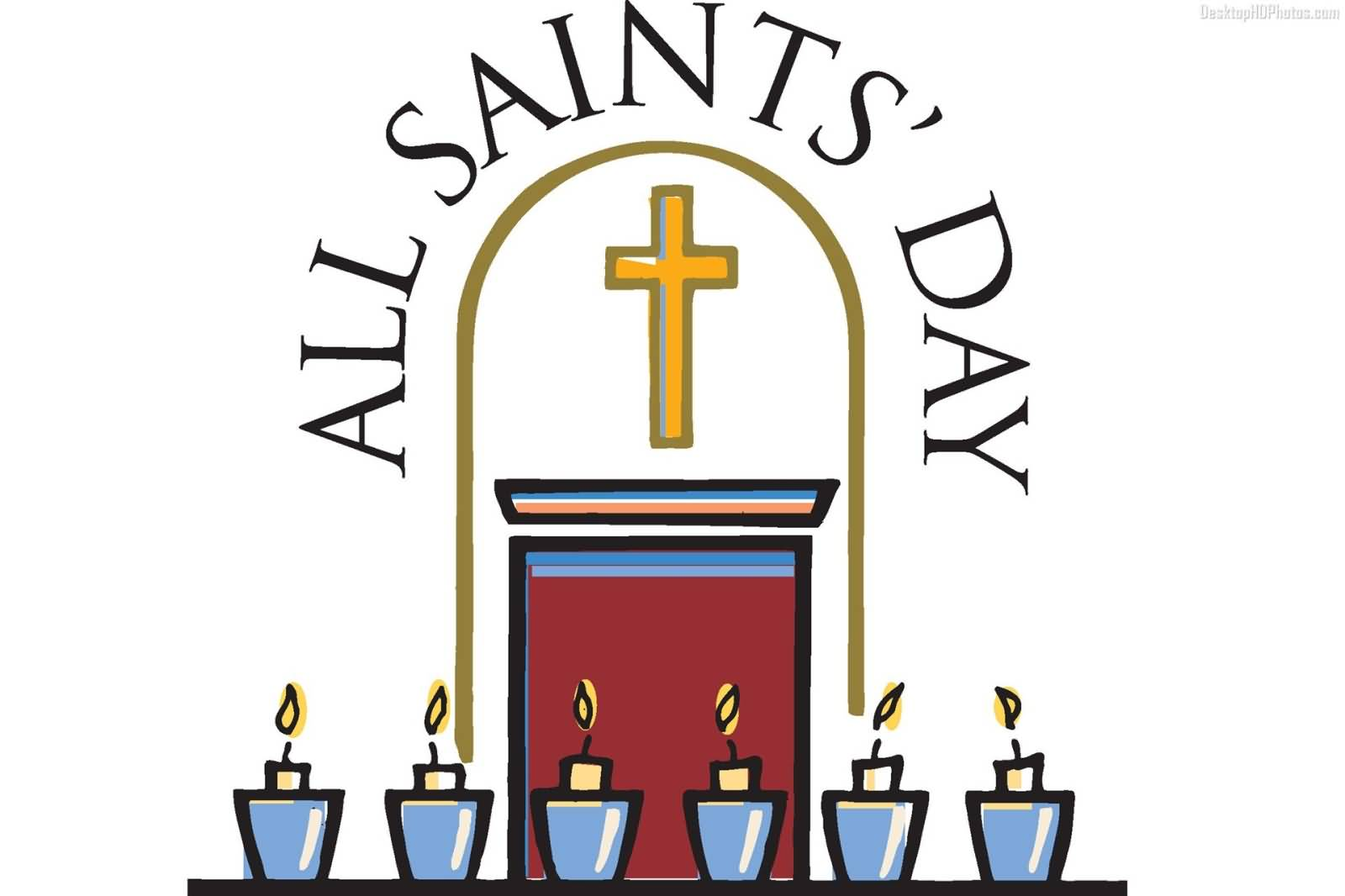 ... All Saints Day Clip Art - clipartall ...
