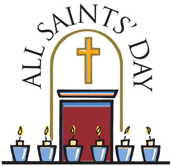 All Saints Day Clipart Image