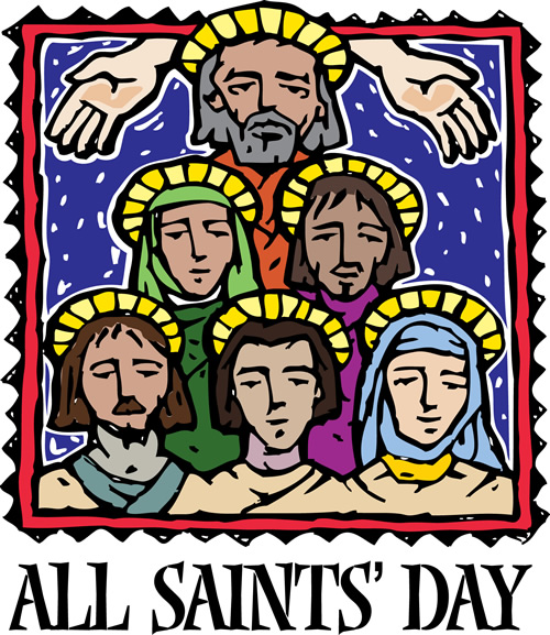 All Saints Liturgy Clip Art
