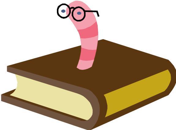 Alliance Public Library Blog: Bookworm - Clipart library - Clipart library