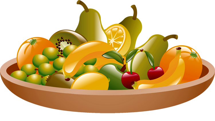 Allinallwalls Fruit Clipart M - Fruits Clip Art