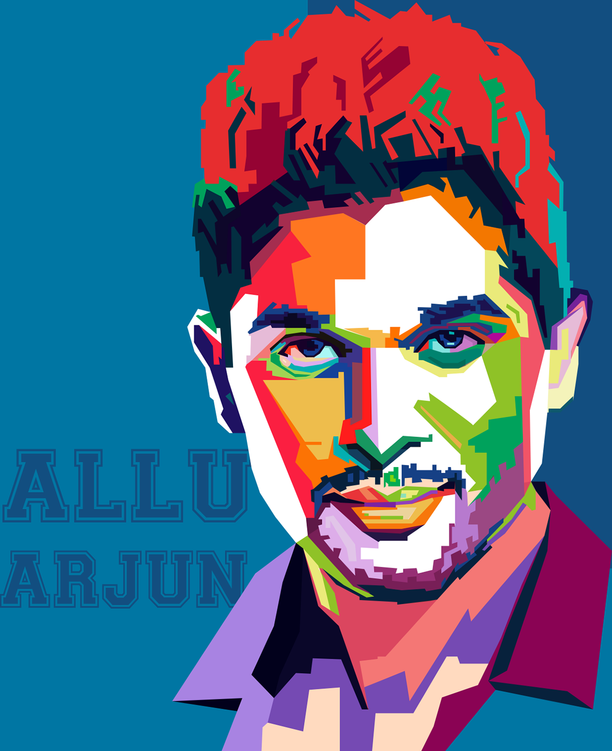 Allu Arjun Clipart