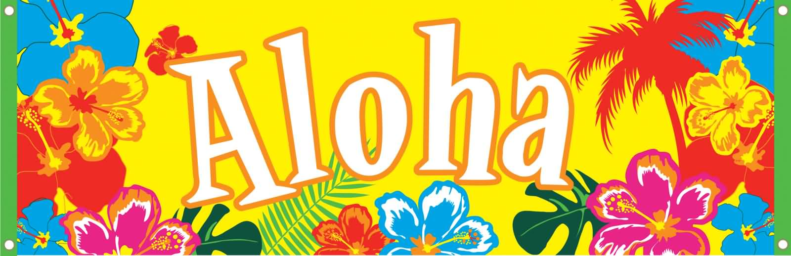 Aloha Colorful Flowers Picture