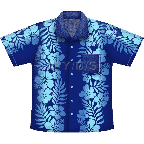 Aloha Shirt, Hawaiian Shirt clipart picture / Large