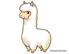 Alpaca Clipart -alpaca clipart -1