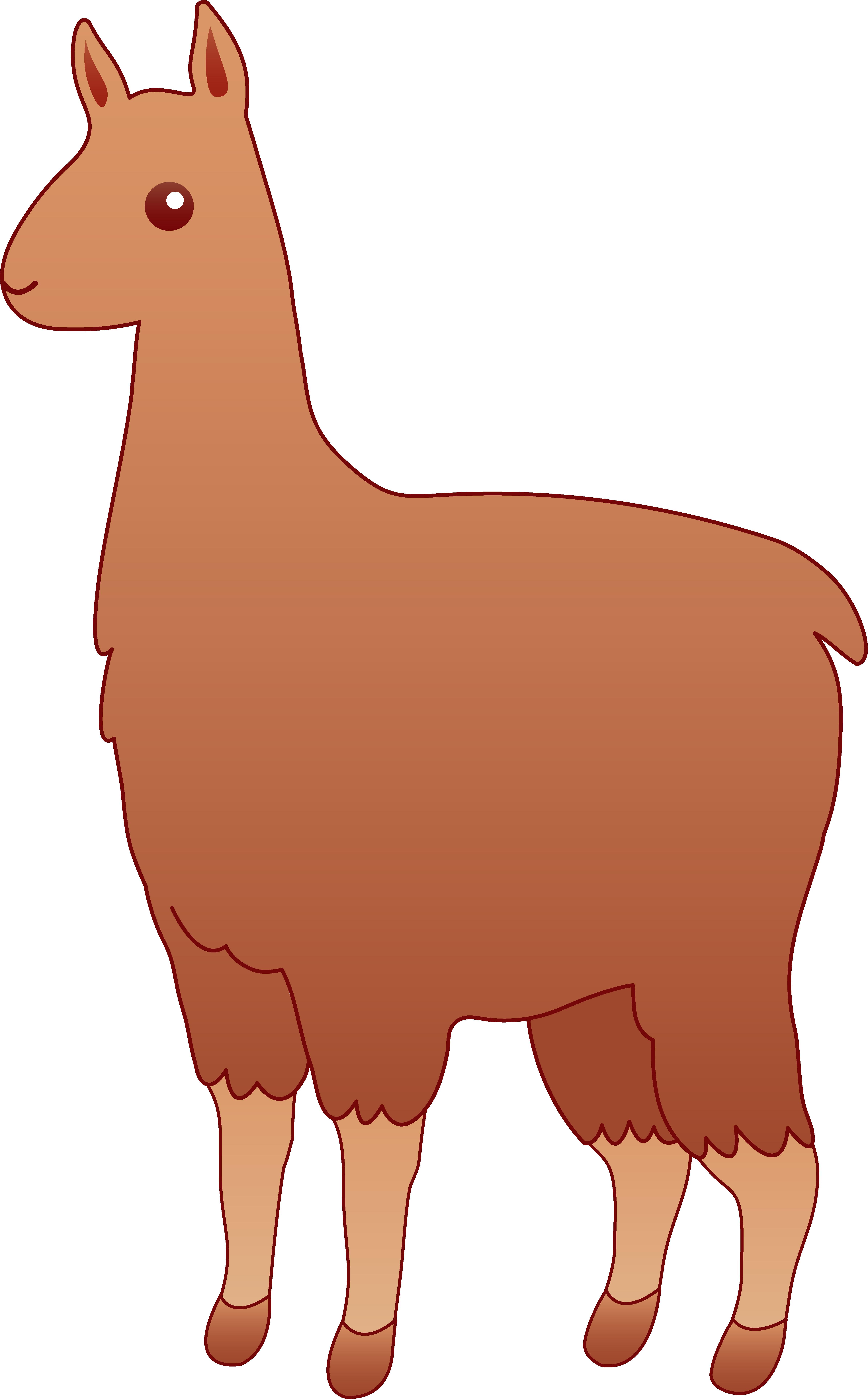 Alpaca Clipart -alpaca clipart -5