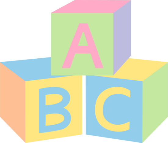 Alphabet Blocks Clipart