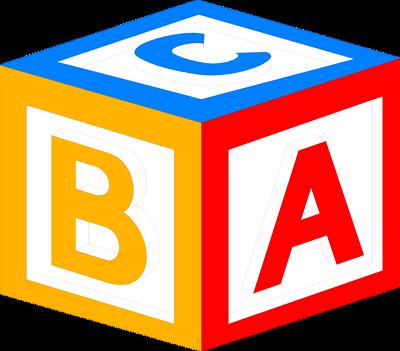 Alphabet Blocks Clipart-Alphabet Blocks Clipart-1