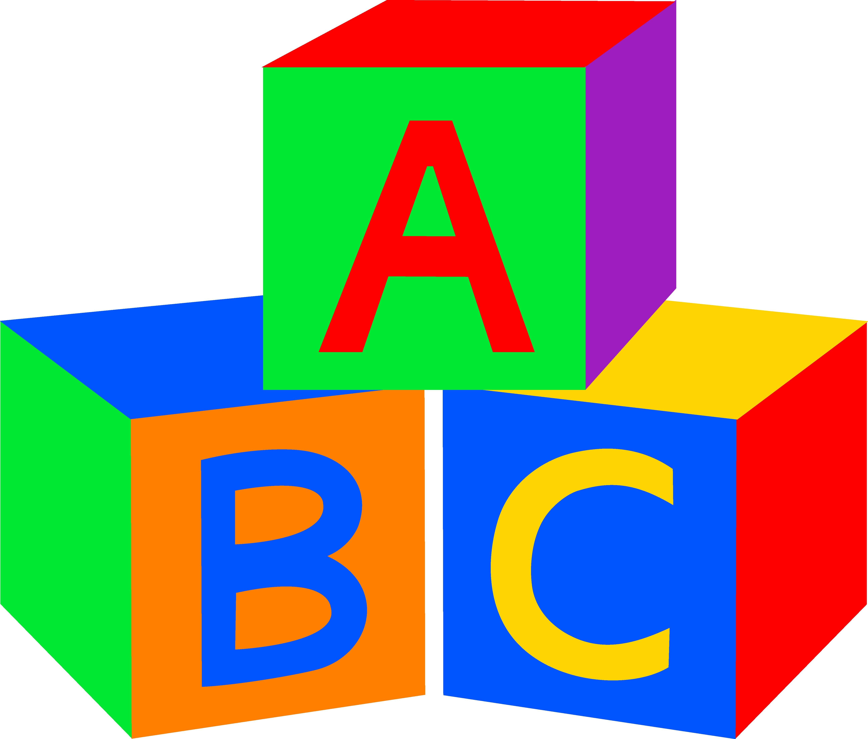 Alphabet Blocks Clipart