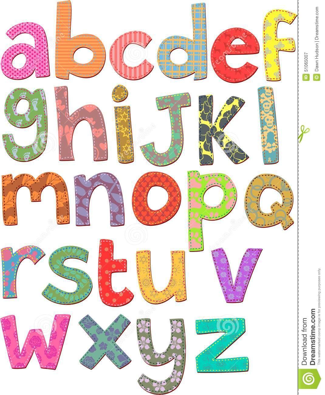 Alphabet Clip Art-Alphabet Clip Art-2