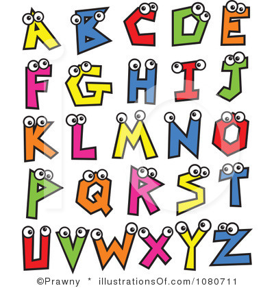 Alphabet Clipart Instant Down