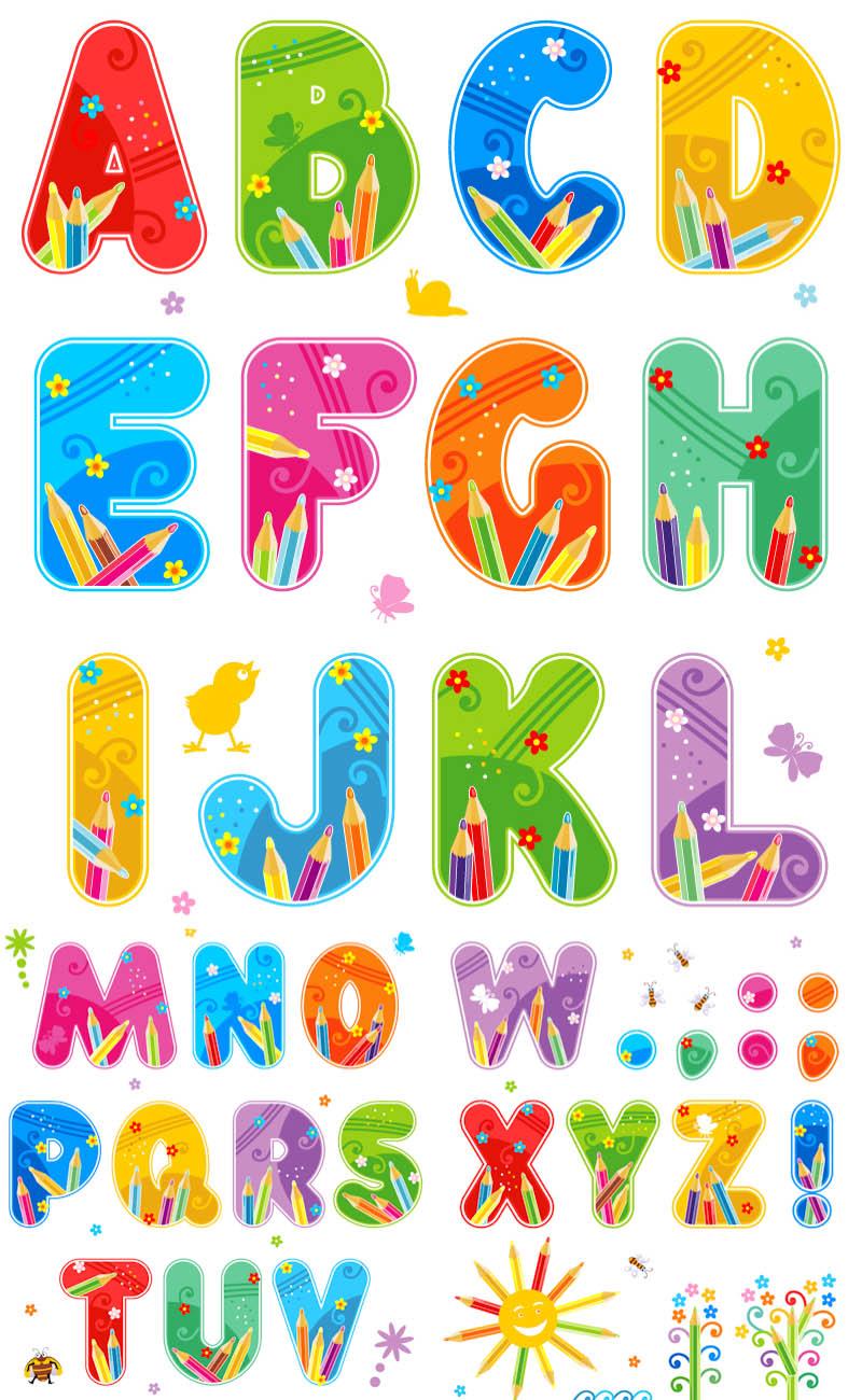 Alphabet Clipart Instant Download Teachi-Alphabet Clipart Instant Download Teaching Clip Art For Teachers-18
