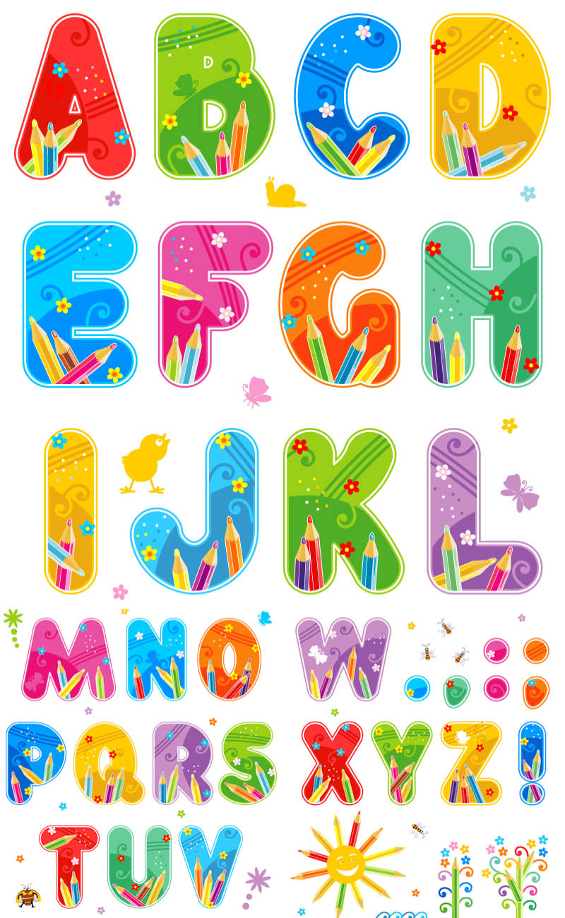 Alphabet Clipart Instant Download Teachi-Alphabet Clipart Instant Download Teaching Clip Art For Teachers-6