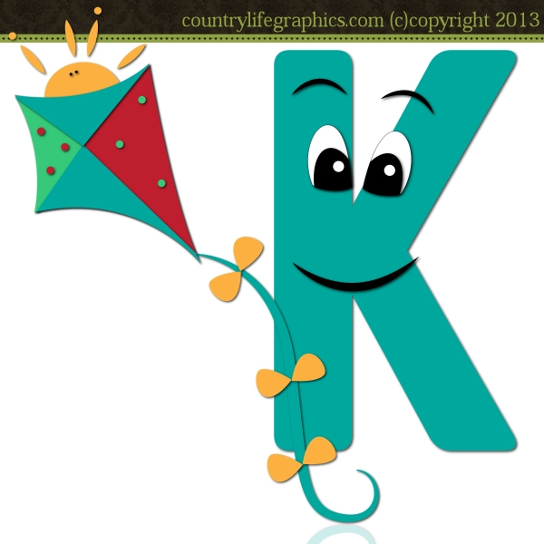 Alphabet Letter K 1 - CLG .-Alphabet Letter K 1 - CLG .-4