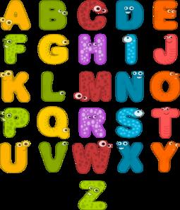 Alphabet Letters Clip Art - Free Alphabet Clipart