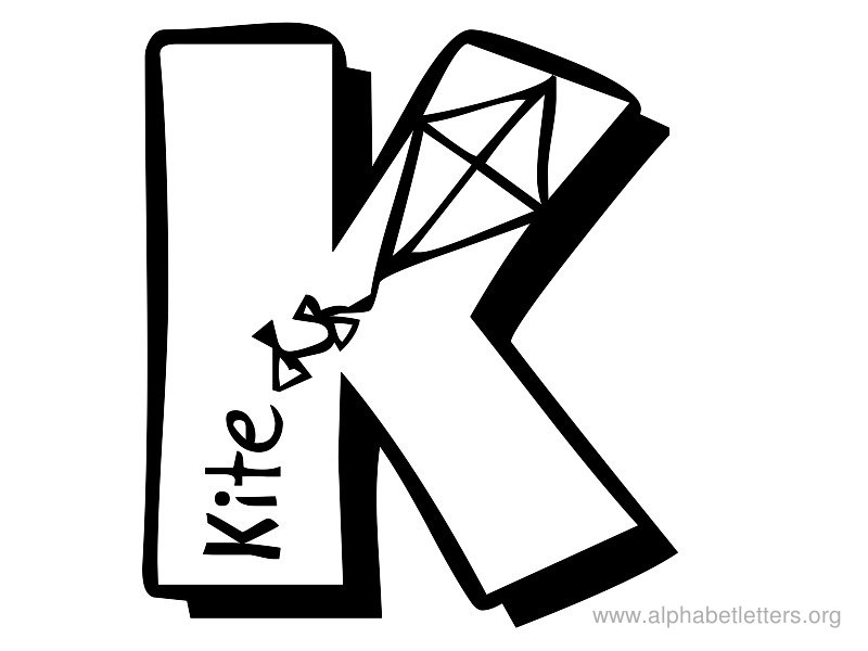 graphic about Printable Letter K identify 65+ Letter K Clipart ClipartLook