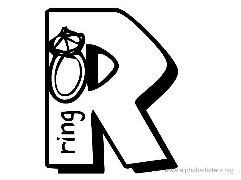 Letter R Clipart