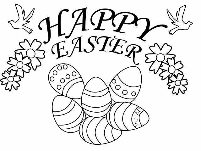 Amazing Easter Coloring .