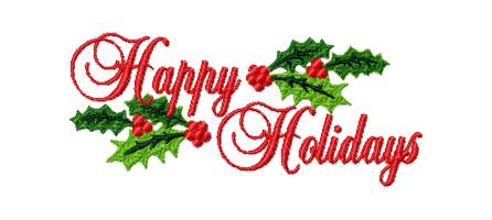 Amazing Happy Holidays Clipart Jpeg