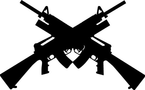 Amazon clipartall.com: WEAPON GUN RIFLE FIREARM Vector Clipart Vinyl Cutter Slgn Design Artwork-EPS Vector Art Software plotter Clip Art Images: Software