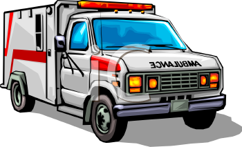 Ambulance Clipart-Clipartlook.com-350