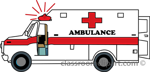 Ambulance clipart: ambulance