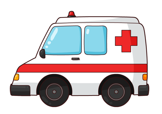 cartoon ambulance clip art - Ambulance Clipart