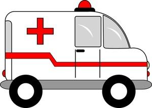 Ambulance Clipart Image Cartoon Ambulanc-Ambulance Clipart Image Cartoon Ambulance With Flashing Emergency-10