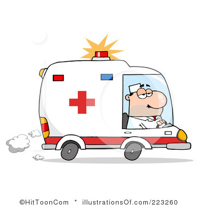 Ambulance Clipart Item 2 Vect - Clipart Ambulance