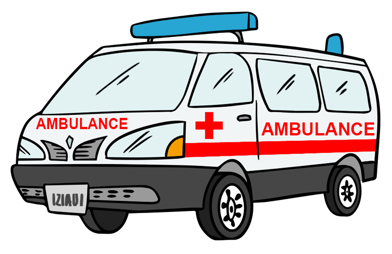 You can use this nice ambulan - Ambulance Clipart