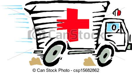 ... Ambulance van car vector-... Ambulance van car vector-17
