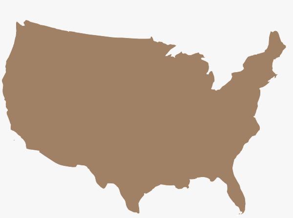 America Silhouette Clip Art At Clker Com Vector Clip Art Online