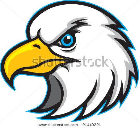 american eagle head clipart