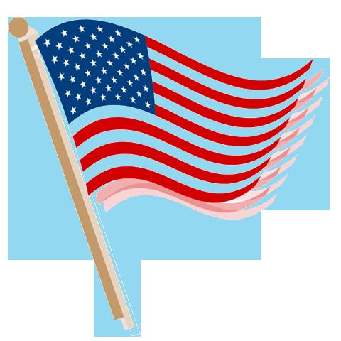 american flag banner clipart-american flag banner clipart-7