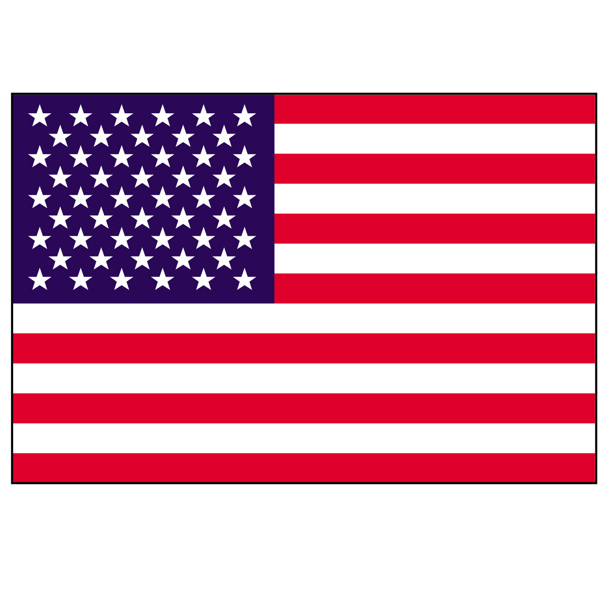american flag banner clipart - Free Clipart American Flag